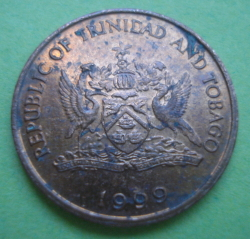 Image #2 of 1 Cent 1999