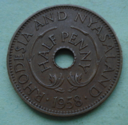 Image #1 of 1/2 Penny 1958