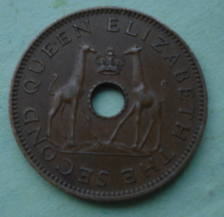 Image #2 of 1/2 Penny 1958