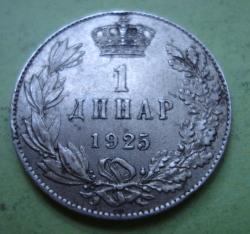 Imaginea #1 a 1 Dinar 1925 B