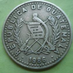 Imaginea #2 a 25 Centavos 1986