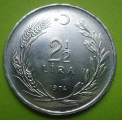 Image #1 of 2 1/2 Lira 1974