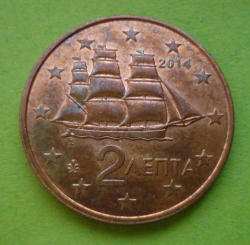 Image #2 of 2 Euro Cent 2014