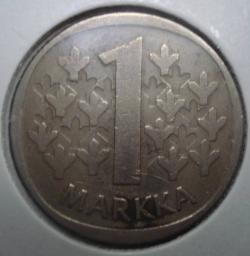 Imaginea #1 a 1 Markka 1972