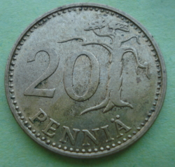 Image #1 of 20 Pennia 1987 M