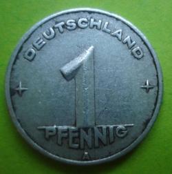 Image #1 of 1 Pfennig 1949 A