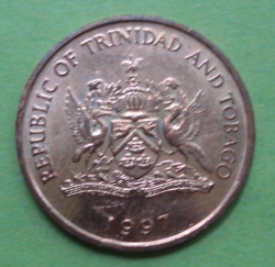 Image #2 of 1 Cent 1997