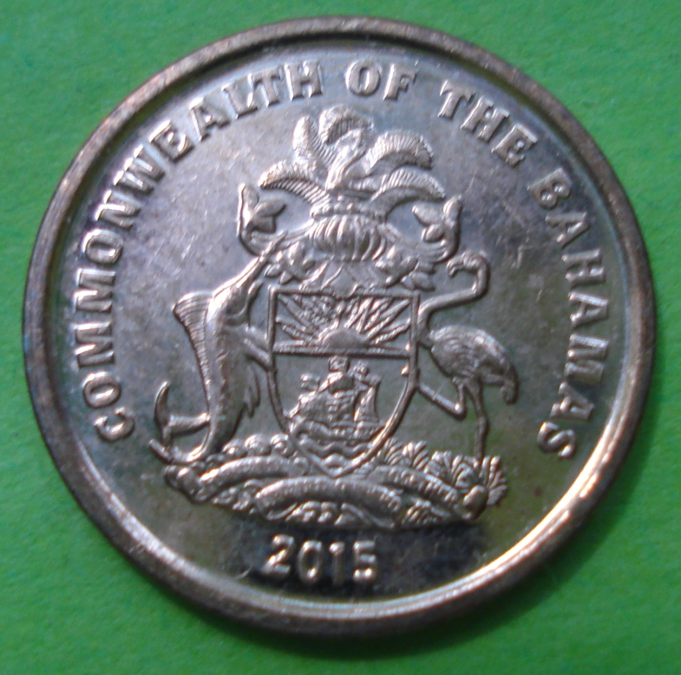 1 Cent 2015, Commonwealth (2010-2019) - Bahamas - Coin - 39041