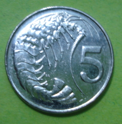 Image #1 of 5 Cents 2008