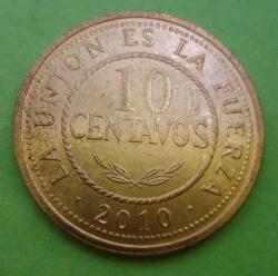 Image #1 of 10 Centavos 2010