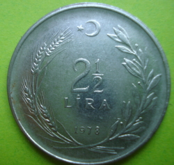 Image #1 of 2-1/2 Lira 1978