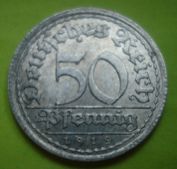 Image #1 of 50 Pfennig 1919 E
