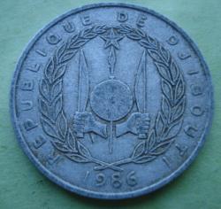 Image #2 of 5 Francs 1986