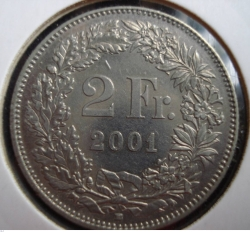 Image #1 of 2 Francs 2001