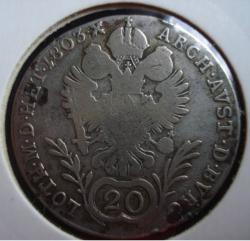 Image #1 of 20 Kreuzer 1803 G