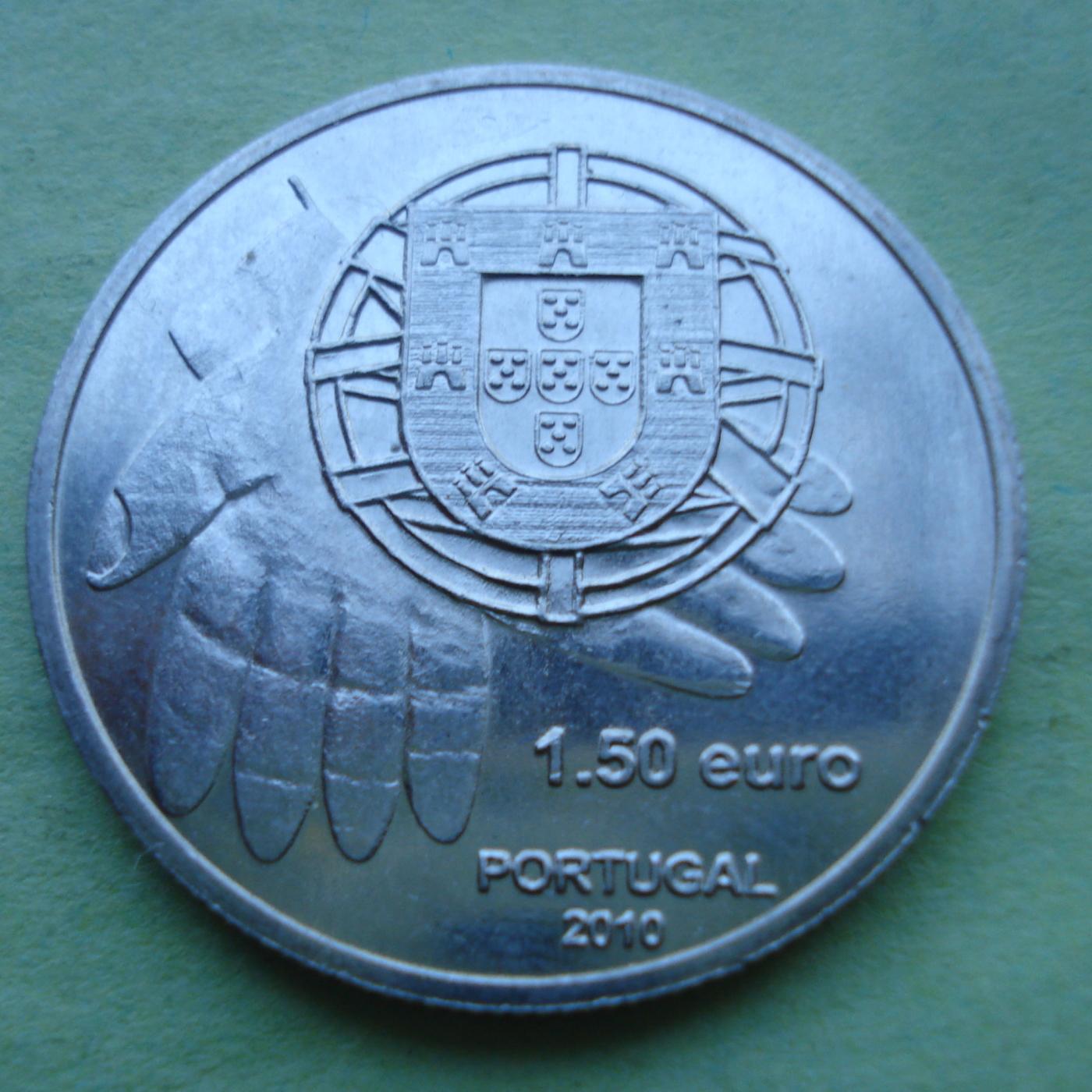 1.50 Euro 2010, EURO (2002-present) - Portugal - Coin - 40900