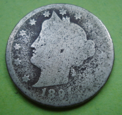 Image #2 of Liberty Head Nickel 1891