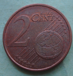 2 Euro Cent 2015