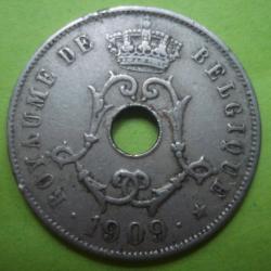 Image #2 of 25 Centimes 1909 (Belgique)