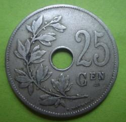 Image #1 of 25 Centimes 1910 (België)