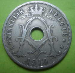 Image #2 of 25 Centimes 1910 (België)