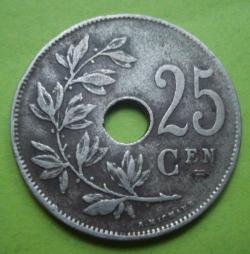 Image #1 of 25 Centimes 1913 (België)