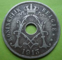 Image #2 of 25 Centimes 1913 (België)