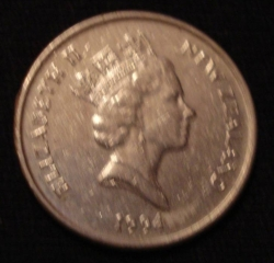 Image #2 of 5 Cents 1994