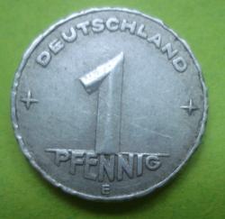 1 Pfennig 1949 E