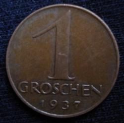 Image #1 of 1 Groschen 1937