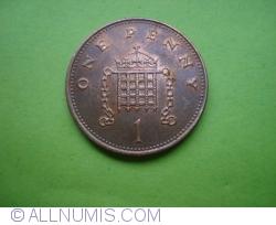 Image #1 of [EROARE] 1 Penny 1996/5 - eroare de batere
