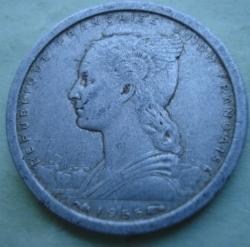 Image #2 of 1 Franc 1955