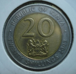 Image #1 of 20 Shillings 2009