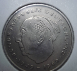 2 Mark 1970 F - Theodor Heuss