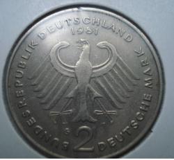 Image #1 of 2 Mark 1981 G - Theodor Heuss
