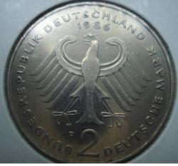 Image #1 of 2 Mark 1986 F - Theodor Heuss