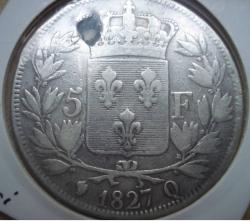 Image #1 of 5 Francs 1827 Q