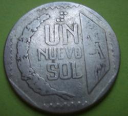 1 Nuevo Sol 1991