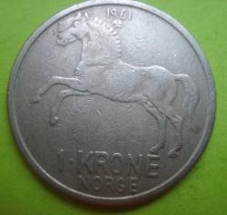 1 Krone 1961