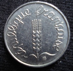 Image #2 of 1 Centime 1963