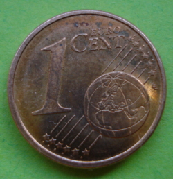 Image #1 of 1 Euro Cent 2015
