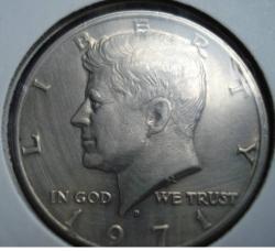 Image #2 of Half Dollar 1971 D