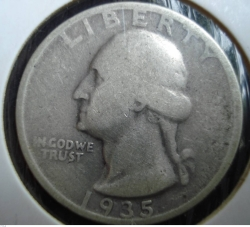 Image #2 of Washington Quarter 1935