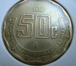 Image #1 of 50 Centavos 1996