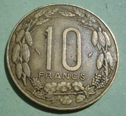 Image #1 of 10 Francs 1976