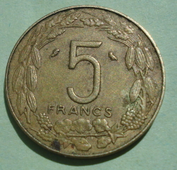 Image #1 of 5 Francs 1973