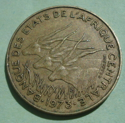 Image #2 of 5 Francs 1973