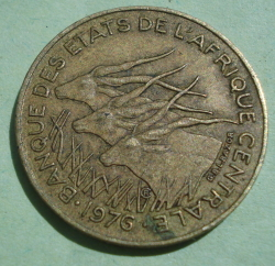 Image #2 of 5 Francs 1976