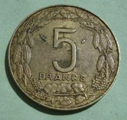 Image #1 of 5 Francs 1978