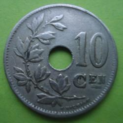 Image #1 of 10 Centimes 1920 (België)